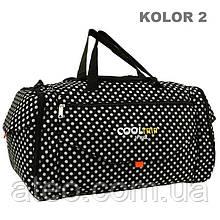 Дорожня спортивна сумка RGL 25C 74л Горошок