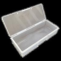 19х7,5х3,5см пластиковая тара (контейнер, органайзер) для рукоделия и шитья (657-Л-0208)
