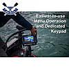 Трехлучевой эхолот картплоттер Lowrance Hook Reveal 7 SplitShot с GPS и автоматической настройкой FishReveal, фото 2