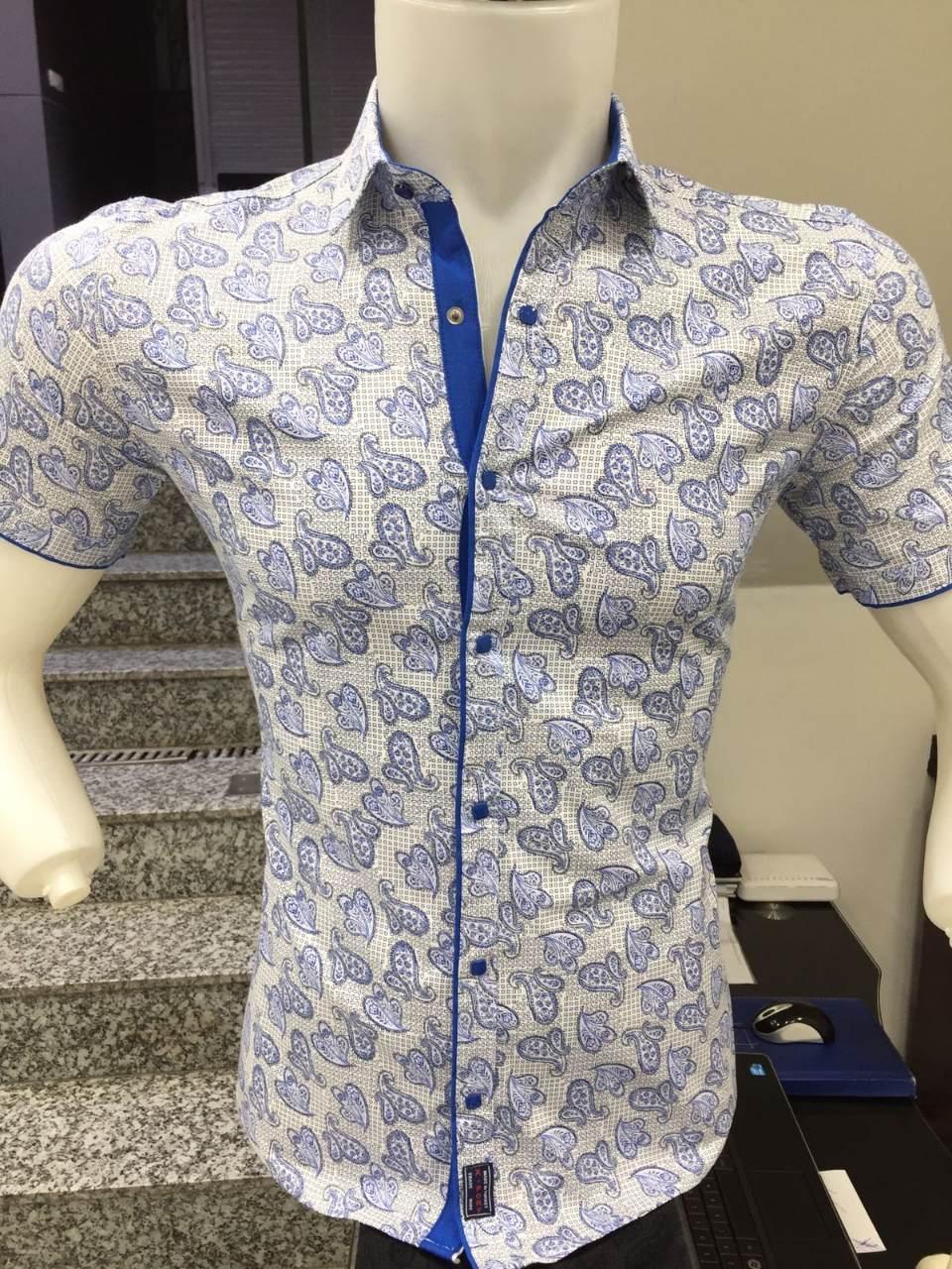 Рубашка короткий рукав X-Port узор
