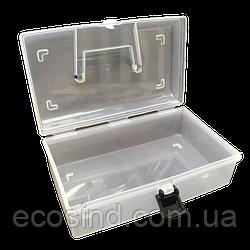 22,5х13х5см пластикова тара (валізку, контейнер, органайзер) для рукоділля та шиття (657-Л-0692)