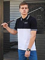 Мужская футболка поло BEZET Young black/white '20, мужское поло, мужская тениска