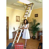 Горищні сходи Benta One з утепленою кришкою 46 мм сосна, фото 1