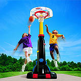 Little Tikes Баскетбольная стойка с кольцом Супербаскетбол до 210 см 433910060 Easy Store Basketball Set, фото 2
