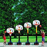 Little Tikes Баскетбольная стойка с кольцом Супербаскетбол до 210 см 433910060 Easy Store Basketball Set, фото 5