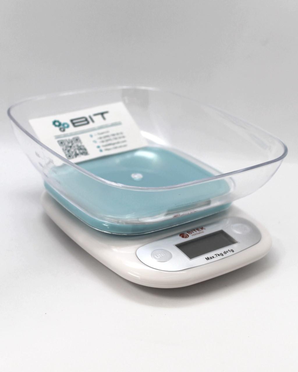 Электронные кухонные весы с чашей Vitek MS-125 7кг