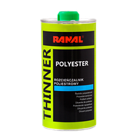 Розчинник поліефірний для шпаклівки POLYESTER   0,5л  RANAL