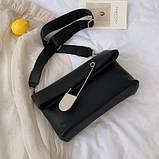 Женская стильная сумка через плечо, фото 2