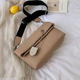 Женская стильная сумка через плечо, фото 4