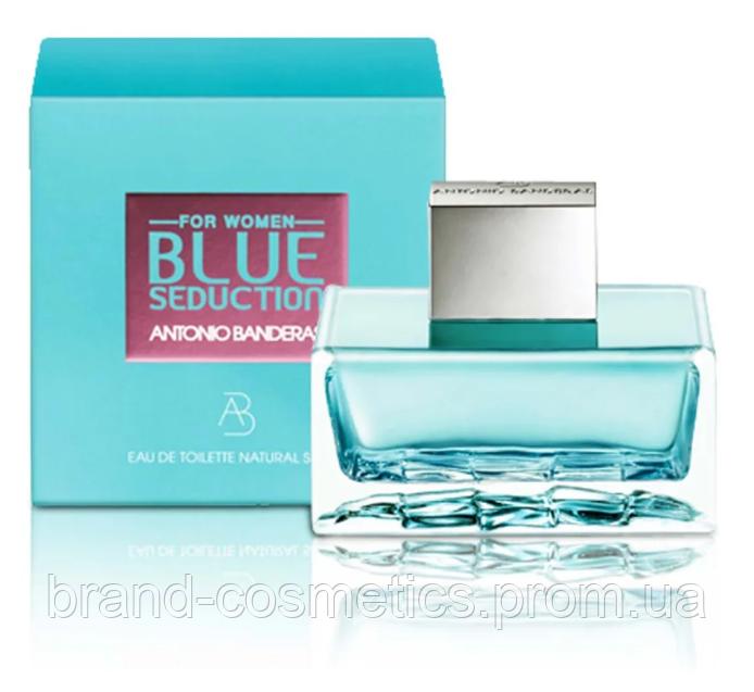 Женская туалетная вода Antonio Banderas Blue Seduction For Women