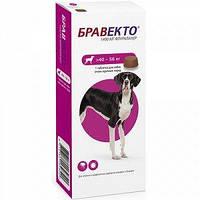 Bravecto (Бравекто) Жевательная таблетка от блох и клещей для собак 40 - 56 кг