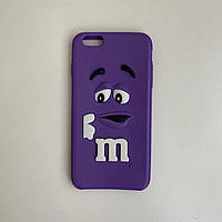 Чехол силиконовый для iPhone 6s Plus Фиолетовый