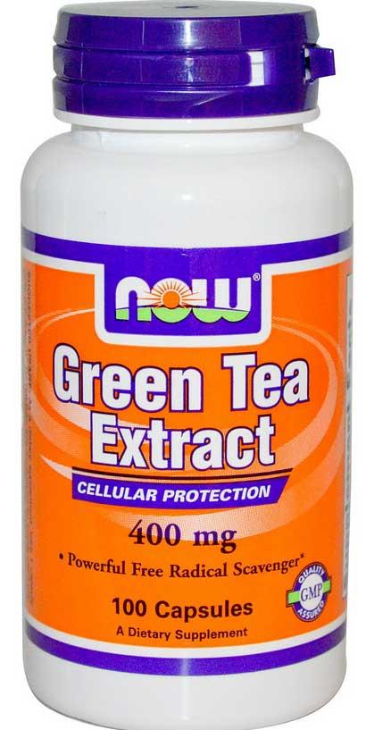 Экстракт зелёного чая, 400 мг, 100 капсул. Сделано в США.