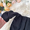 Топы с открытыми плечиками . Цвета: чёрный, белый, красный, пудра(6283), фото 7