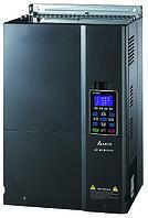 Преобразователь частоты Delta Electronics, 90 кВт, 400В,3ф.,векторный, c ПЛК, VFD900CP43A-21