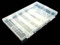Коробка рыболовная пластиковая  27*14*7см, фото 1