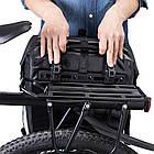 Сумка на багажник King водонепроникна чорна NEW, фото 8