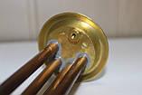 МІДНИЙ тен ПРЕМІУМ для бойлера Термекс, Гарантерм, 1300 W мідний, на ЛАТУННОМУ фланці Ø63мм ІТАЛІЯ (Thermowatt), фото 5