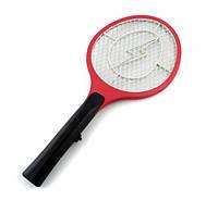 Электрическая мухобойка Rechargeable Mosquito-hitting Swatter на аккумуляторе (разноцветные)
