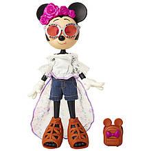 Кукла Минни Маус Фестиваль Цветов Disney Minnie Mouse Floral Festival Fashion Doll