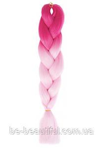 Канекалон цвет розово/светло-розовый 130 см