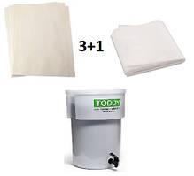 Набір фільтрів (3+1) для Toddy Cold Brew Commercial 10 літрів