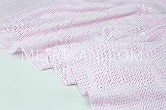 Лоскуток. Филейное полотно  светло-розового цвета 240 см  №  Ф-03. 90*240