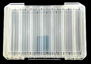 Двухсторонняя коробка для воблеров 27*18.5*4.5 см