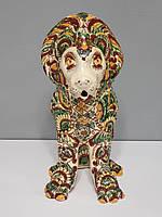 Статуэтка Hand Made Лев, Косовская керамика, ручная роспись, 27,5 х 21 х 11,5 см