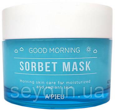 Утренняя маска-щербет для лица A'PIEU Good Morning Sorbet Mask, 110 мл