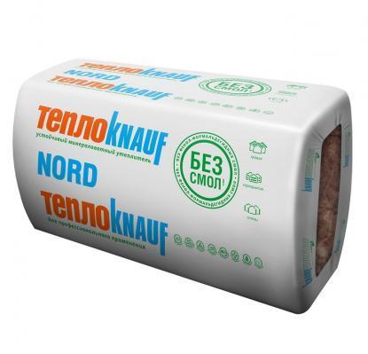 Мінеральна вата ТЕПЛОKnauf Insulation NORD 1230×610×50 9 м2. уп.