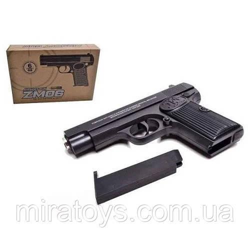 Детский пистолет ZM 06 копия пистолета ТТ