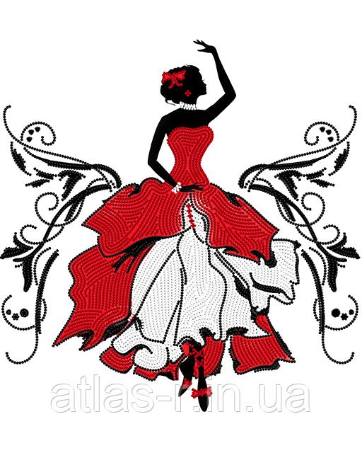 """А3 """"Фламенко"""" схема для вишивки бісером"""