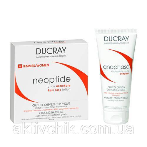 Набор Ducray Лосьон от выпадения волос Неоптид + Шампунь Анафаз 100 мл