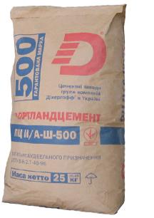 Цемент ДЛ ПЦ II/А-Ш-500 25кг