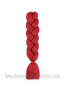 Канекалон цвет красный 130 см