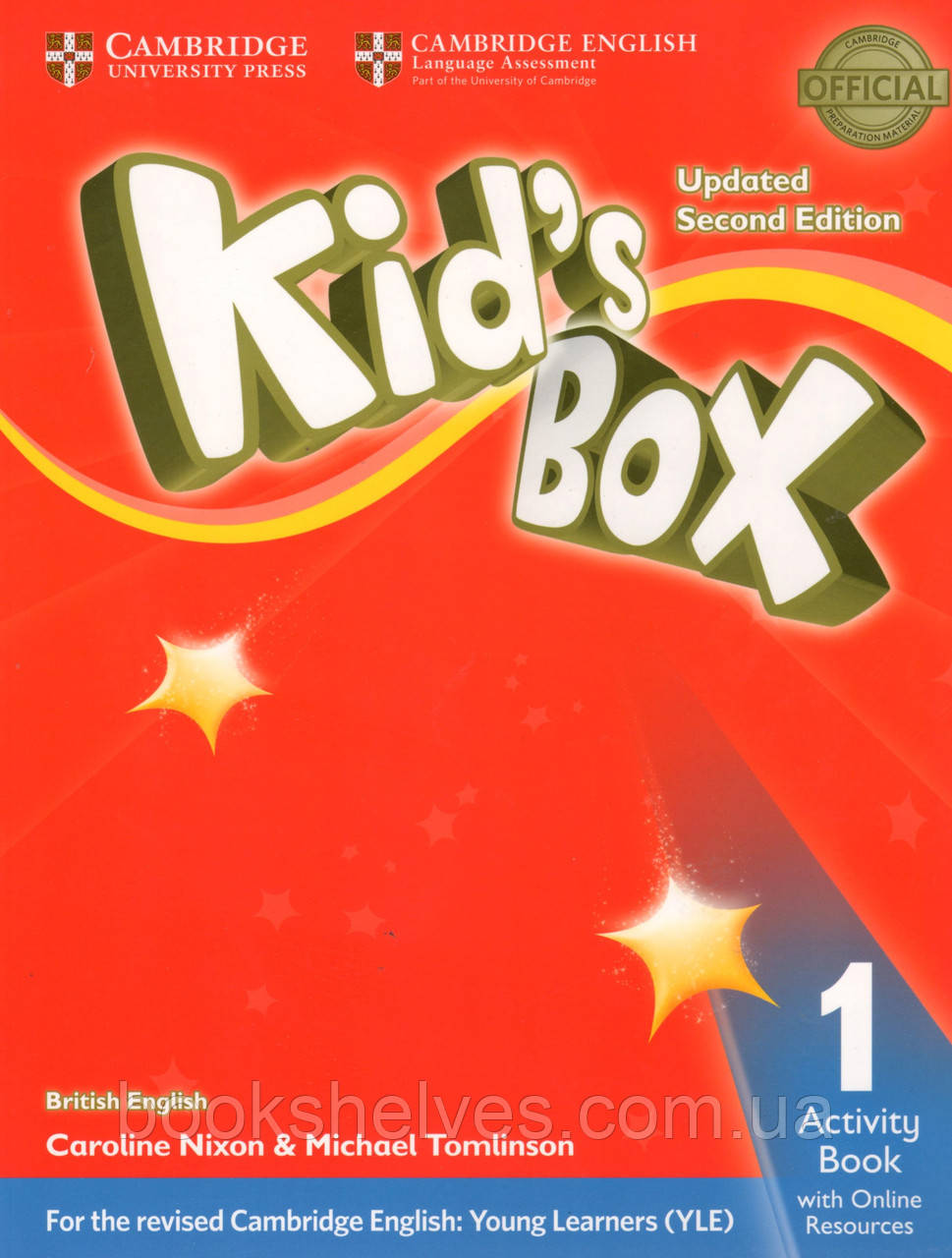 Робочий зошит kid's Box Updated 2nd Edition 1 AB + Online Resources