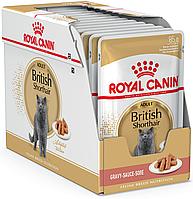 Royal Canin British Shorthair Adult Влажный корм для кошек породы Британская короткошерстная 12x85 г