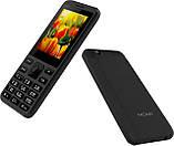 """Кнопочный телефон с мощной батареей и камерой на 2 сим карты Nomi i249 Black 2,4"""" АКБ 1700 мА*ч, фото 2"""