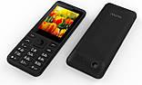 """Кнопочный телефон с мощной батареей и камерой на 2 сим карты Nomi i249 Black 2,4"""" АКБ 1700 мА*ч, фото 3"""