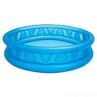 Детский надувной бассейн летающая тарелка Intex 58431. Басейн круглый 188х 46