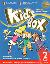 Учебник  Kid's Box Updated 2nd Edition 2 Pupil's book