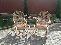 """Плетеная кресло-качалка для отдыха из лозы """"Буковая  """", фото 1"""