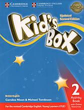 Робочий зошит kid's Box Updated 2nd Edition 2 Activity book + Online Resources