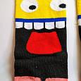 Шкарпетки високі з принтом Мега смайл розмір 37-43, фото 3
