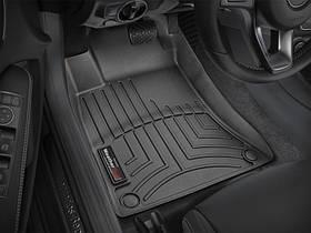 Ковры резиновые WeatherTech B-class  2013-2018 передние черные (  бензин ,дизель )