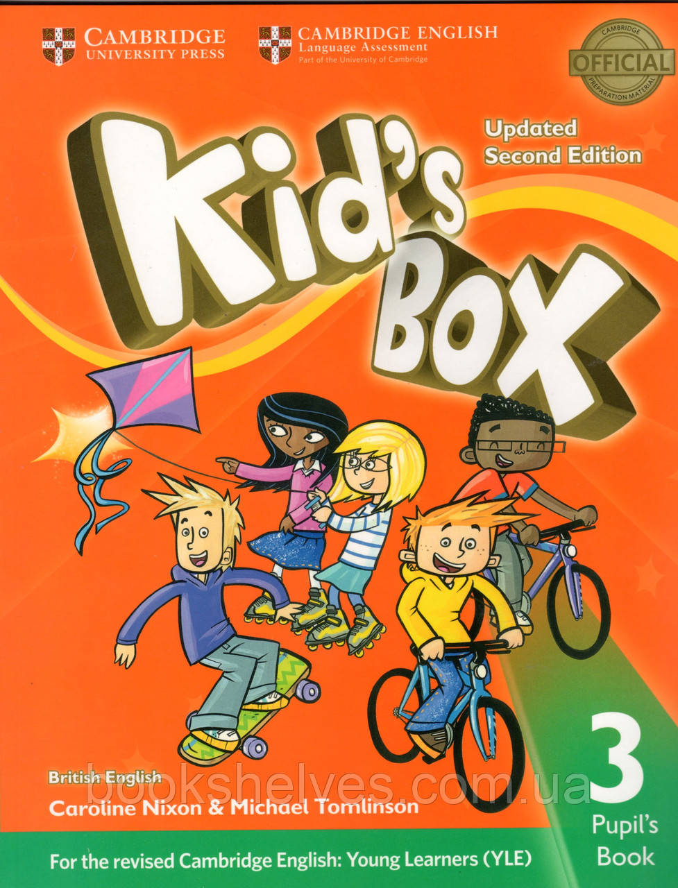Підручник kid's Box Updated 2nd Edition 3 Pupil's book