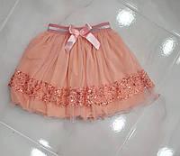 Нарядная юбка для девочки . Размеры:   9