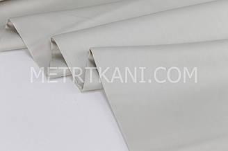 Лоскуток. Сатин  премиум,  серо-бежевого цвета ширина 240 см № ПС-0046. 88*240 см