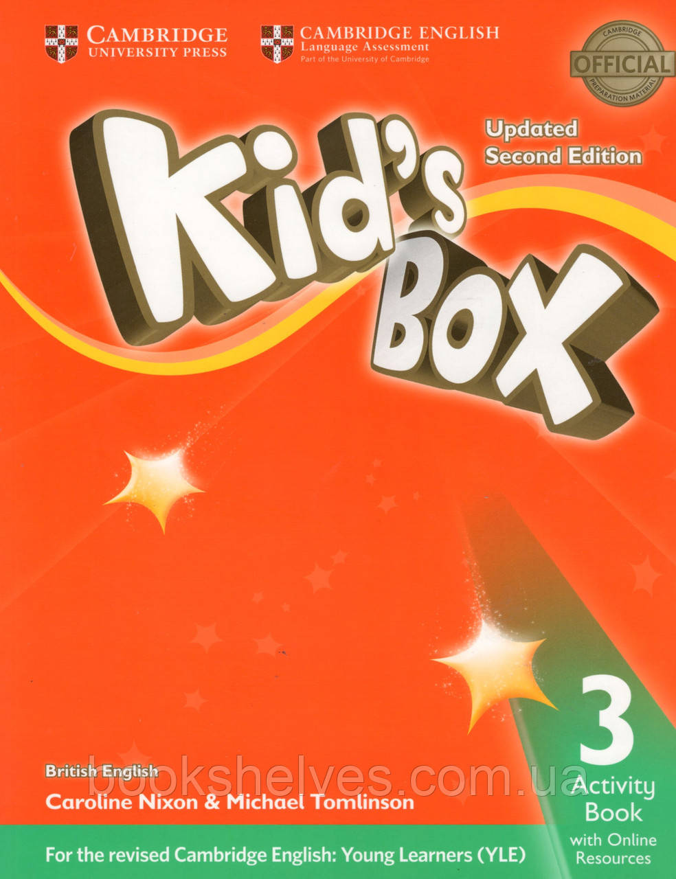 Рабочая тетрадь Kid's Box Updated 2nd Edition 3 Activity book + Online Resources